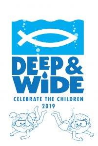 deep and wide auction logo