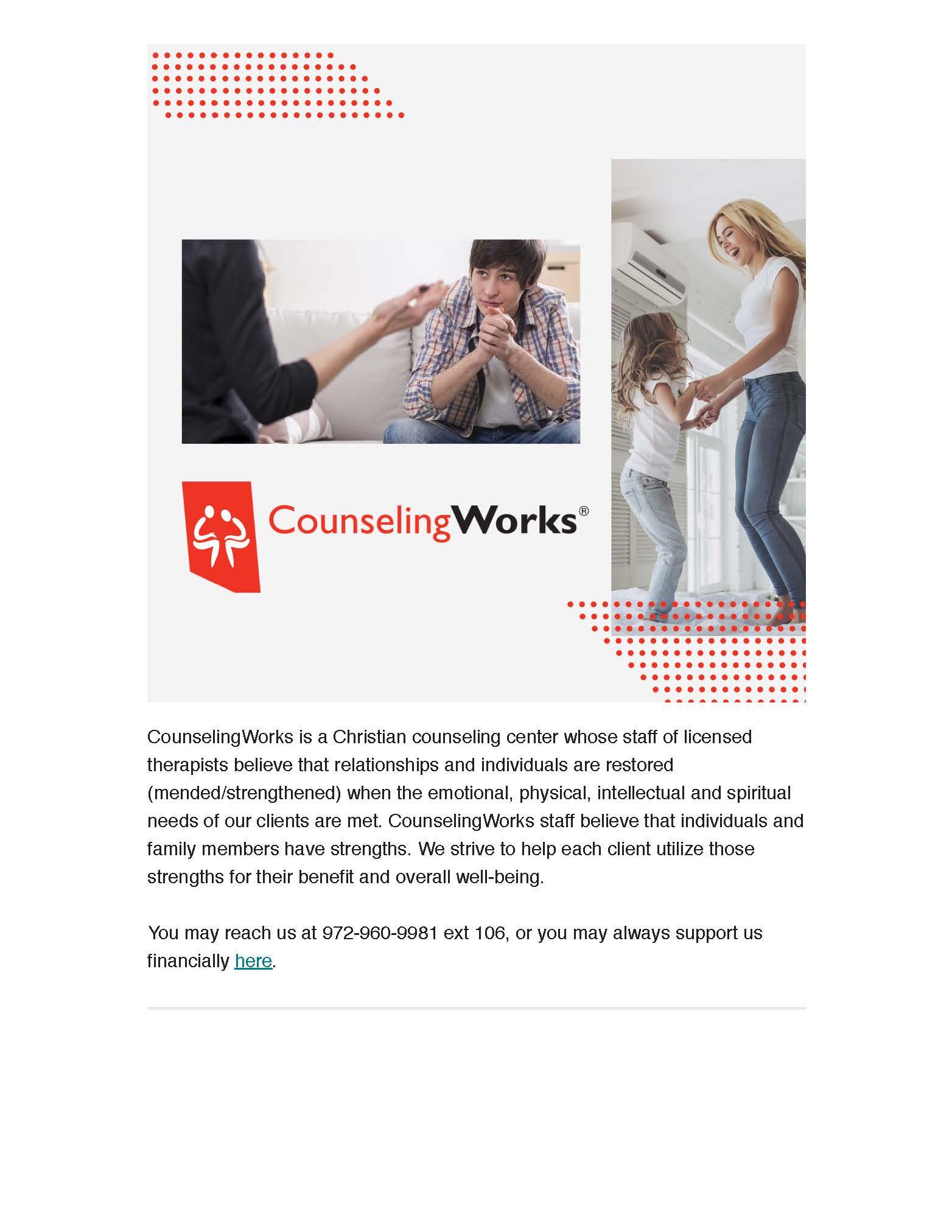 ChristianWorks Newsletter June 9, 2020 pt.3